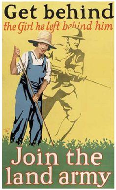 wwi propaganda poster by las.photographs, via Flickr
