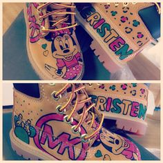 Timbs for the little one! #Minnie