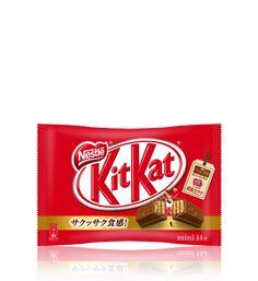 ネスレ キットカット ミニ 14枚入り Mini 14, Packing, Japan, Chocolate, Bag Packaging, Japanese Dishes, Chocolates, Japanese, Brown