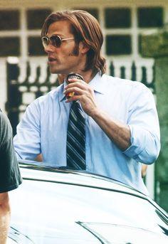 Jared, behind the scenes • #JaredPadalecki #sunglasses  Good grief, Jared, CAN YOU JUST NOT?