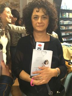 Lovely Elisabetta Guiglia, brand new friend and sweet lady and reader.  amzn.to/1zvZQ1S