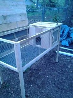 rabbit hutch - simple