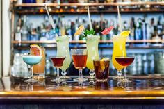 Read about the bars bringing drinks like the Hurricane and the Long Island into the modern age.