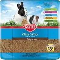 Kaytee Products 529146 Clean And Cozy Small Pet Bedding - Natural, 250 cu. in.