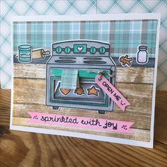 #Lawn Fawn - #Sprinkled with love | Card by marleenishere