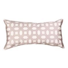 Trellis Rectangle Gray Decorative Pillow Cover   #cushion #pillows #decor #pattern #modern #homedecor #livingroom
