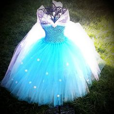 Queen Elsa - Frozen inspired tutu dress, Birthday dress, princess, photo shoot…