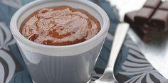 Mousse au chocolat chaude