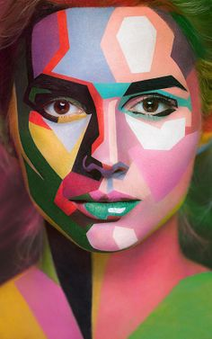14 | Insane Makeup Turns Models Into 2-D Paintings Of Famous Artists | Co.Design | business + design
