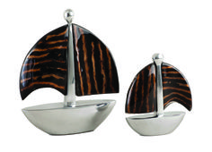 "Decorative Accessory, Sailboats 4"" & 6"" Coco Twig Set / by Pearl Dragon Collections #pearldragon #interiordesign #style #design #homedecorations #inspiration #capiz #classic #home #interior #room #accessories #patterns #colors #decorations #decor #homedecor #fish #tealights #candles #candleholder #leaf #tree #lights #boats #sailboats Tea Lights, Decor, Candle Holders, Decorative Accessories, Lights, Candle S, Home Decor, Color, Capiz"