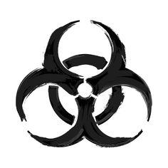 Awesome 'biohazard' design on TeePublic!