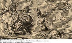 Year: 1562 Scientist/artist: Diego Gutiérrez Originally published in: Americae Sive Qvartae Orbis Partis Nova Et Exactissima Descriptio Now appears at: Library of Congress (http://www.loc.gov/)
