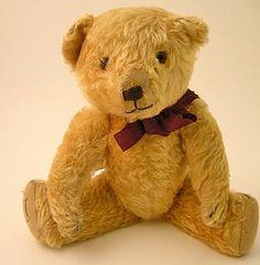 The Dean's Rag Book Co. Ltd, Jointed teddy bear (1930s). Gold mohair