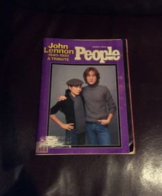 Vintage 1980 People Magazine With a John Lennon Tribute, 1980 Magazine Advertising by MargiesCoolStuff on Etsy