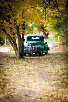 Beautiful old truck