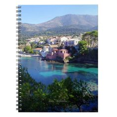 Assos - Kefalonia Spiral Note Books