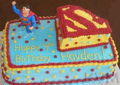 fun superman cake to make