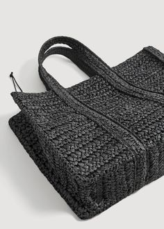Braided shopper bag – Women Braided shopper bag – f foShoppers Women Make Up Tutorial Eyeshadows, Make Up Tutorial Contouring, Diy Bags Purses, Braid Designs, Jute Bags, 2020 Fashion Trends, Crochet Handbags, Summer Bags, Shopper Bag