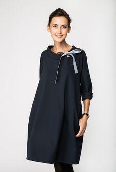 LeMuse FRENCH deep blue dress
