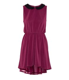 Super cute peter pan collard dress. Especially love this color.