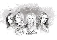 drawn alison from pretty little liars - Google Search