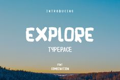 Explore and Typepace Free Font on Behance