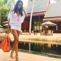 Izabel Goulart @iza_goulart Beach Style! #ama...Instagram photo | Websta (Webstagram)
