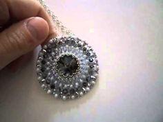 Tutorial Jahitan Manik : [Beadworks] Medaglioni e pendenti -     - http://maribelajarsulamanmanik.com/tutorial-jahitan-manik-beadworks-medaglioni-e-pendenti/