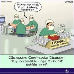 A doctor with Obsessive–compulsive disorder #OCD Funny, time to LOL