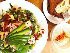 Spare Ribs, Avocado Egg, Cobb Salad, Om, Eggs, Breakfast, Blogging, Morning Coffee, Pork Ribs