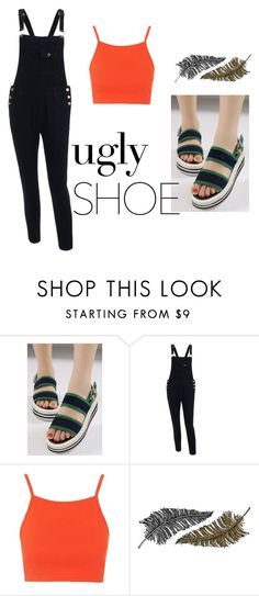 """""""ugly shoe"""" by priya14 on Polyvore featuring Topshop, Paperself, casualday and uglyshoe"""