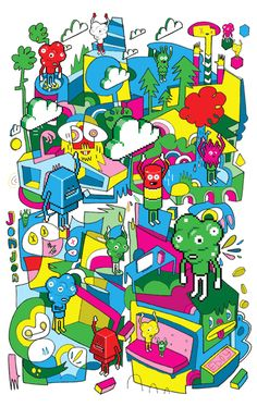 Jon Burgerman Art Designer @Love Through Design