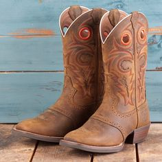 Justin All Brown Silver Label Boots