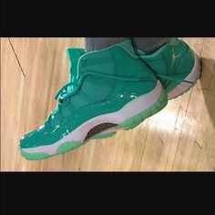 f69160a65a08ad This Air Jordan 11 Teal Emerald Mint is inspired by Chris Paul s  birthstone. Chris Paul s AIr Jordan 11 Emerald edition is a PE (player  exclusive).