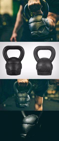 Iron Man Kettlebell Fitness Gadgets, Fitness Tips, Fitness Motivation, Health Fitness, Fitness Gear, High Tech Gadgets, Cool Gadgets, Workout Gear, Workouts