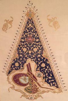 Sultan II.Abdülhamid Han Hat:Ali BEDİR Turkish Islamic Calligraphy