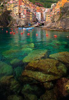 Riomaggiore Bay, Italy