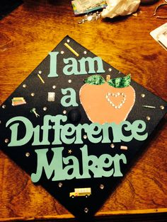 Graduation cap! Early Childhood Education from Arkansas State University 2014!! Woop woop!