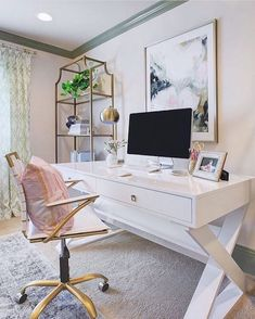 Gorgeous Home Office Design Ideas For Small Space