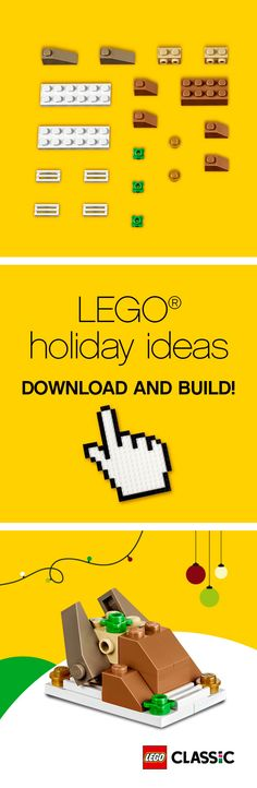 Are you looking forward to the festive meals ahead? For those who cannot wait, find out how to build your LEGO Classic bricks turkey now: http://lego.build/Door23