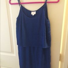 Parker blue dress Size medium blue dress Parker Dresses