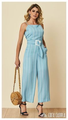 Cool Outfits, Casual Outfits, Fashion Outfits, Diva Fashion, Womens Fashion, Fashion Design, Best Fashion Photographers, Pantalon Large, Jumpsuit Outfit