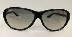 NEW AUTHENTIC RAYBAN RB4153 COL 601/32 BLACK PLASTIC SUNGLASSES FRAME