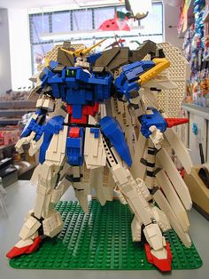 Lego Gundam Wing Zero Custom 09 by madLEGOman, via Flickr