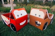 Ka-chow! Have your little ones ever wanted to be the awesome Lightning McQueen Racecar? Or how about the funny and yet adorable Mater? Here is their chance! All it takes are a few crafts supplies, …