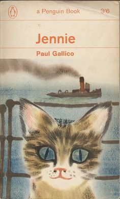 Jennie 8-), 1942. Became a Penguin Book in 1963. Illustration by David Gentleman
