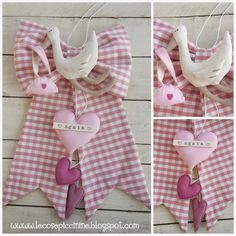 Le cose piccinine: Fiocchi nascita vecchi e nuovi Baby Shawer, Baby Kids, Baby Knitting, Crochet Baby, Baby Applique, Heart Crafts, Cross Stitch Baby, Felt Fabric, Kids And Parenting