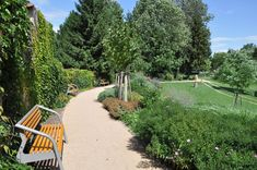 Park roku 2011 - 1. místo   SZUZ Park Landscape, Garden Bridge, Parks, Sidewalk, Outdoor Structures, Ideas, Side Walkway, Walkway, Thoughts