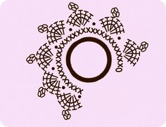 Talk to LiveInternet - Russian Service . Crochet Diagram, Crochet Chart, Crochet Motif, Crochet Flowers, Crochet Lace, Crochet Jewelry Patterns, Crochet Hair Accessories, Doily Patterns, Crochet Hair Styles