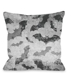 Look what I found on #zulily! Flying Bats Throw Pillow by OneBellaCasa #zulilyfinds